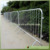 big games crowd control steel barrier