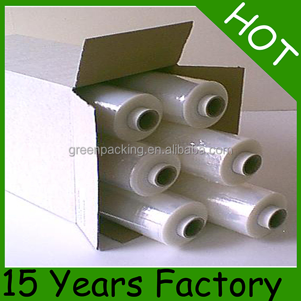 Packaging Transparent LLDPE Hand Pallet Stretch Wrap