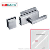 Stainless steel safe glass door lock hotel door lock