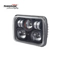 China Wholesale Auto Accessories Headlight 7 Square Motorcycle Fog Lights LED Rectangular Headlight 5x7 for Jeep