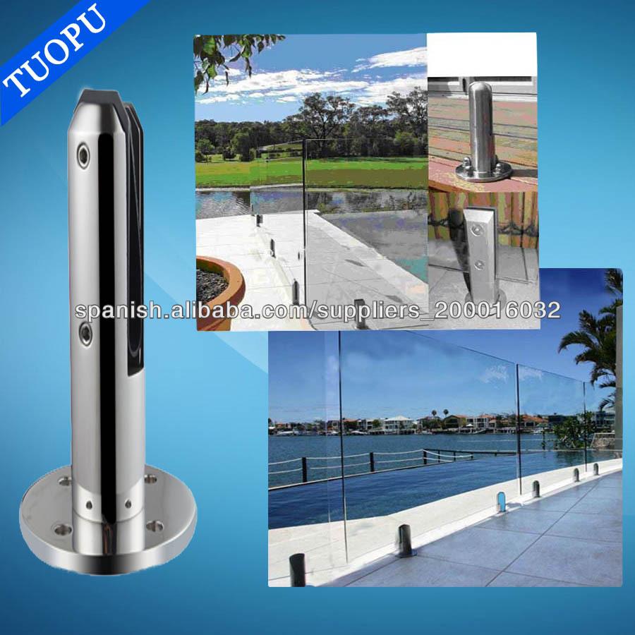 De acero inoxidable valla de la piscina grifo de vidrio de acero inoxidable piscina grifo de - Vallas de acero inoxidable ...