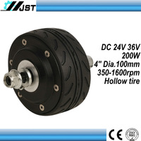 high quality 4inch 36v 350w brushless scooter hub motor