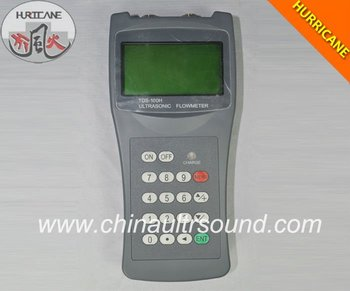 Digital Portable Ultrasonic Liquid Control Flow Meter for Industry