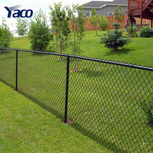 Safety decorative Factory supply 8 gauge chain link fence for roll