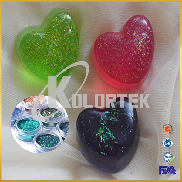 Cosmetic grade glitter laser powder for nails lipstick eyeshadows soaps, makeup glitters