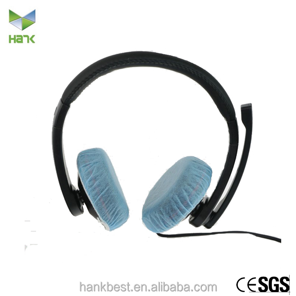 Disposable headset covers replacement nonwoven earcup covers