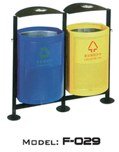 Hot Sell Public Wood Large Garbage Bins / Trash Can