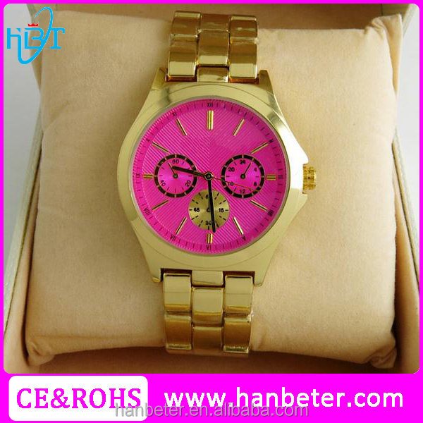 2016 New released fashion lady watch online shopping in cheap price