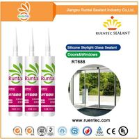 Weatherproof Construction Neutral Silicone Sealant for aluminum plate glass curtain wall