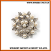 China supplier rhinestones brooch pin, brooches,golden brooch