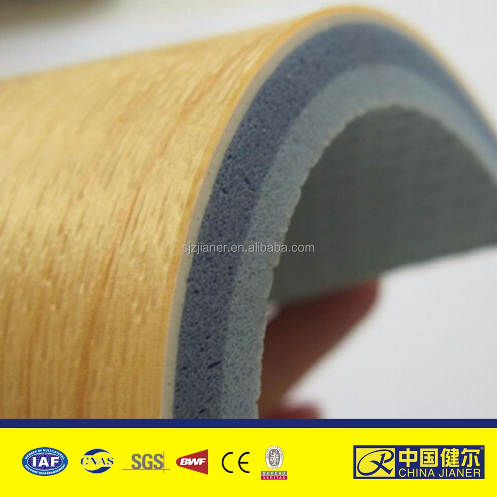 best quality and thick basketball court vinyl pvc flooring