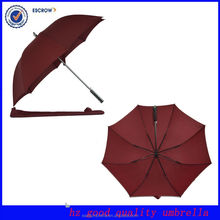 Silk print 8 ribs multicolor golf umbrella