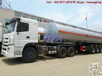 DTA water truck,water tanker,water wagon /semi-trailer water tanker stainless steel tank /water pump/ High pressure squirt gun
