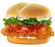 Halal Chicken Burger