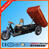 hydraulic dumping tricycle for cargo