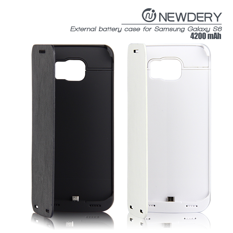 new product fast charger external power bank charger power case for Samsung Galaxy S6