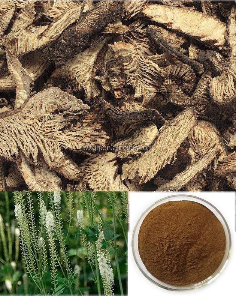 Natural Herbs for menopause Black Cohosh Extract /Cohosh Root Extract Triterpene Glycosides