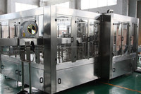 automatic 3 in 1 juice washing filling capping machine