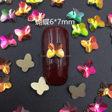 Shining 5*5 Butterly Rhinestone For Nail Art K9 Nail Rhinestone