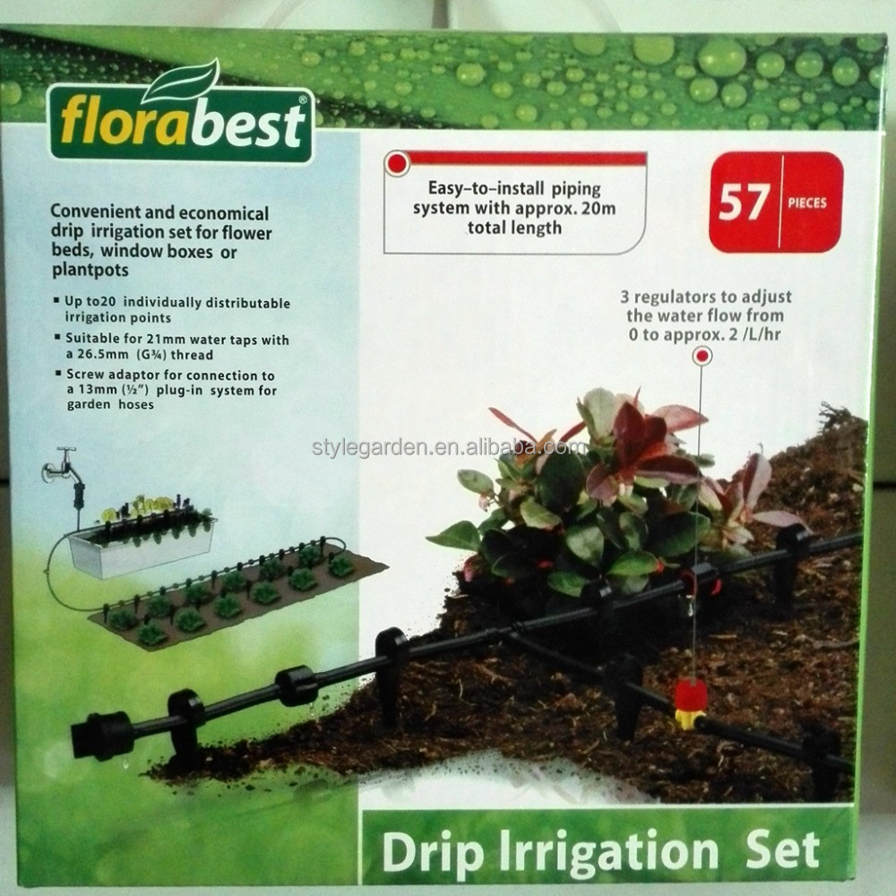 Lidl Garden Products 57pcs Home & Garden Drip Irrigation System Set
