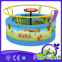 Triangle tunnel combination play house for kid Fibrillated synthetic grass princess castle