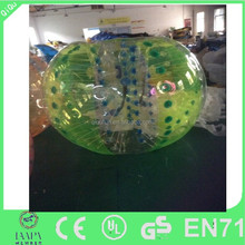Hot sale popular inflatable bubble football ball / body zorb ball for sale