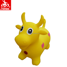 Hot selling pvc inflatable jumping animal toy