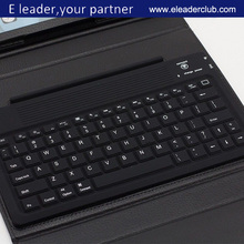 Bluetooth Wireless Leather Keyboard Stand Leather Case Cover For iPad Air