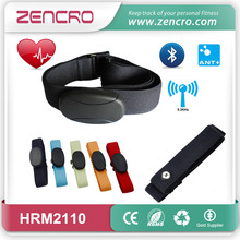 wireless digital heart rate chestbelt 5.3KHZ waterproof heart rate transmitter ANT+ bluetooth heart rate monitor