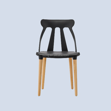 Simple design Europe style plastic hollow out dining room chair