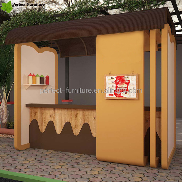 perfect Food kiosk supplier coffee fresh fruit juice bar design