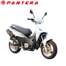 110cc Chinese White Snow Kid Pocket Mini New Motorcycle for Woman