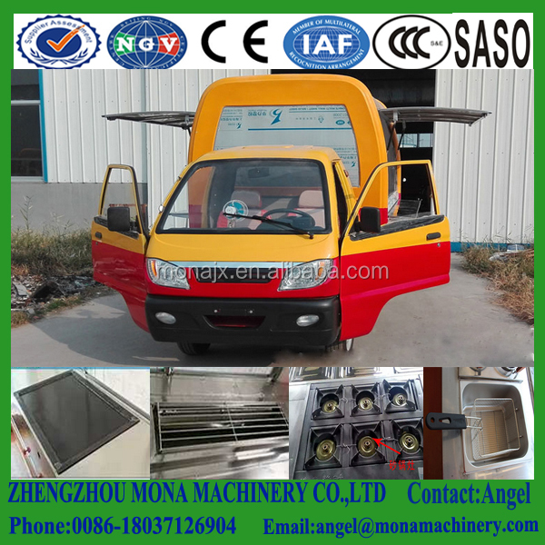 New Designed Multifunctional Street Mobile Food Trailer/ Mobile Food Van/ Food Truck
