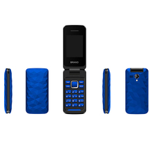 2018 New Arrival Mobile Phone Cheap Price 2.4inch Mini Dual Sim Similar Blu Flip Phone