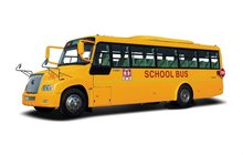 School bus dimensions ZK6100DA 10m school bus for sale