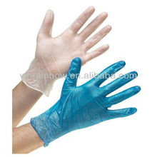 disposable vinyl glove suitable for food industry