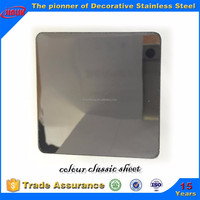 new construction material sus 304 light black stainless steel sheet