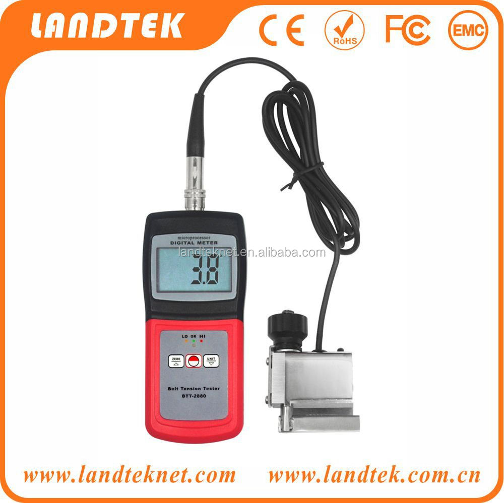 Portable Belt Tension Tester BTT-2880 (new)(textile,cable,wire,plastic film)