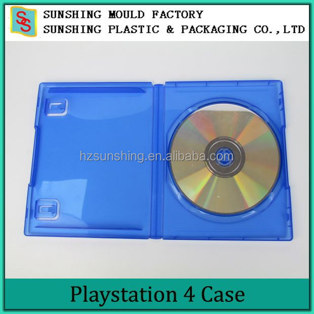 Blue Single 14mm DVD Plastic Game Case