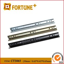 CT3065 30MM Width 2 balls Kitchen Cabinet Drawer Slide Parts For Furniture Fittings