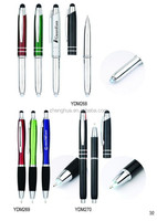 Popular Metal Stylus Pen for tablets, hot sale Stylus Touch pen, Touch screen Pen with stylus for promotion