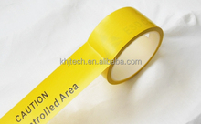 Competitive price antistatic rubber adhesive pvc warning tape