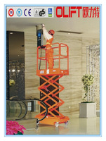 Best sell Olift pathfinders hydraulic mini scissor lift wooden kit with certificate CE ISO with SGS