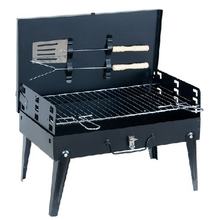 Portable Charcoal Notebook Grill Commercial Charcoal Grill