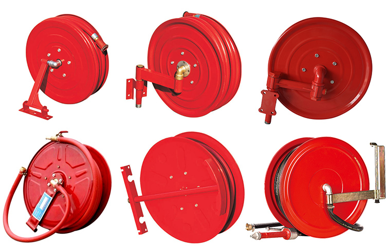25mm x 30m Swing Arm Fire Hose Reel with high working pressure