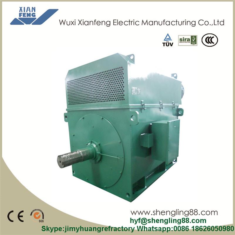 Y3552-2 1250kW Asynchronous Motor YKS 6KV High Voltage Asynchronous Electric Motor