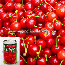 canned cherry with syrup