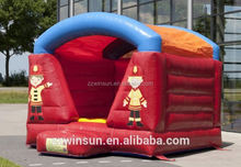 INFLATABLE MOONWALK SMALL FIRE TRUCK THEME