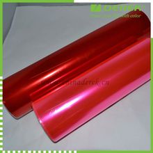 Red Custom Car Headlights Film--Factory Directly
