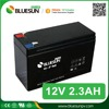 Bluesun 12v 2.3ah rechargeable deep cycle sealed lead acid battery